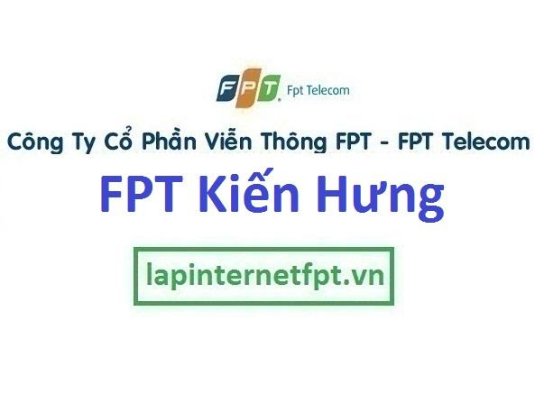Lắp mạng FPT phường Kiến Hưng quận Hà Đông Hà Nội