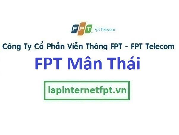 Lắp đặt mạng FPT phường Mân Thái quận Sơn Trà Đà Nẵng