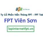 Lắp đặt internet FPT phường Viên Sơn