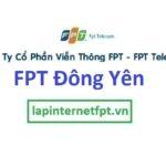 Lắp mạng FPT ở xã Đông Yên