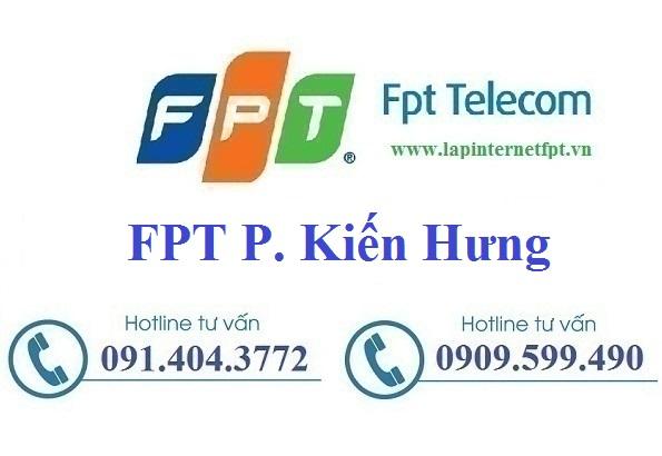 Đăng ký cáp quang FPT phường Kiến Hưng