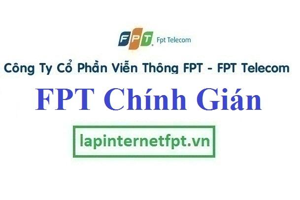 Lắp mạng FPT phường Chính Gián quận Thanh Khê Đà Nẵng