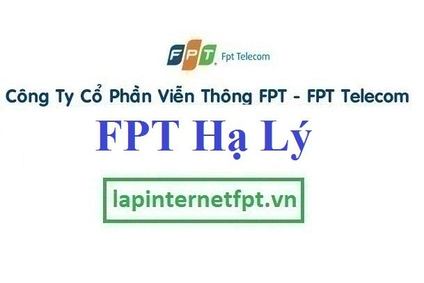 Lắp đặt mạng FPT phường Hạ Lý quận Hồng Bàng Hải Phòng
