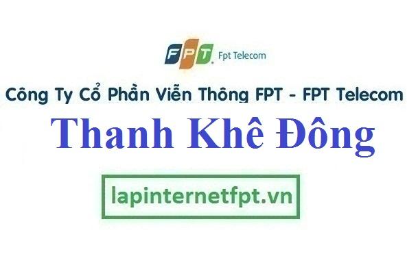 Lắp đặt internet FPT phường Thanh Khê Đông quận Thanh Khê Đà Nẵng