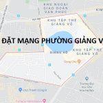 Lắp đặt mạng Fpt phường Giảng Võ quận Ba Đình