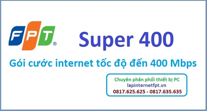 Gói cước internet Super 400