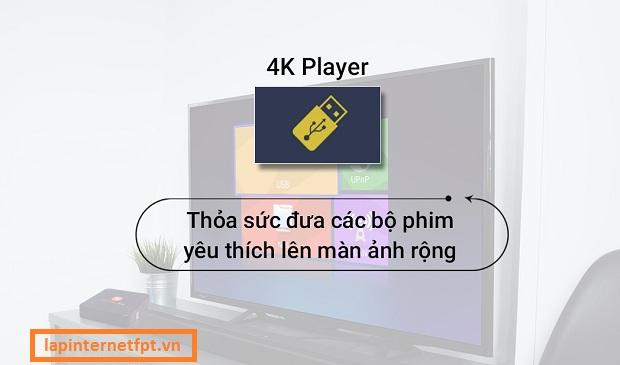 Tính năng và ứng dụng của FPT Play Box
