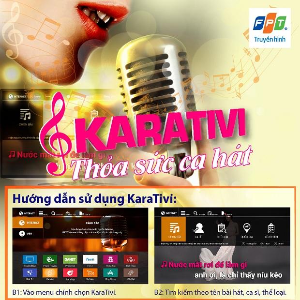 KARAOKE - KARATIVI trên truyền hình FPT
