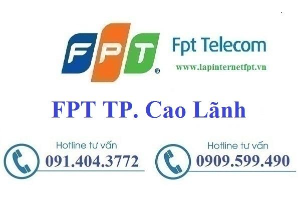 Đăng ký cáp quang FPT TP Cao Lãnh