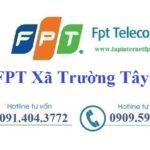 Lắp Đặt Mạng FPT phường Trường Tây, Tx Hòa Thành Tây Ninh