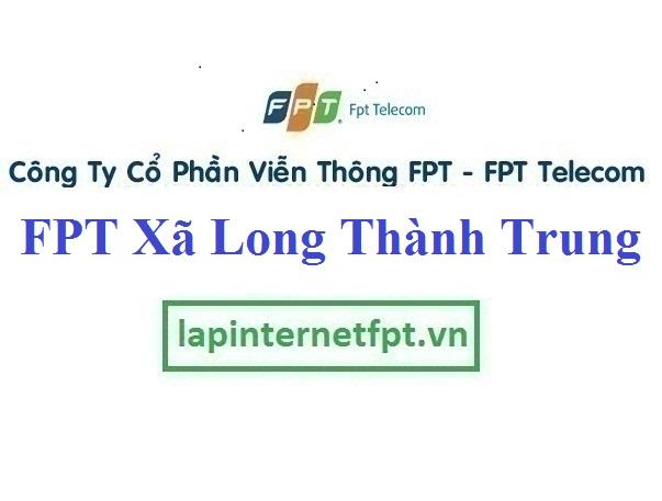 Lắp Đặt Mạng FPT Xã Long Thành Trung Huyện Hòa Thành Tây Ninh