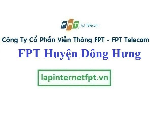Đăng ký cáp quang FPT Huyện Đông Hưng