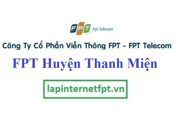 Lắp Mạng FPT Huyện Thanh Miện