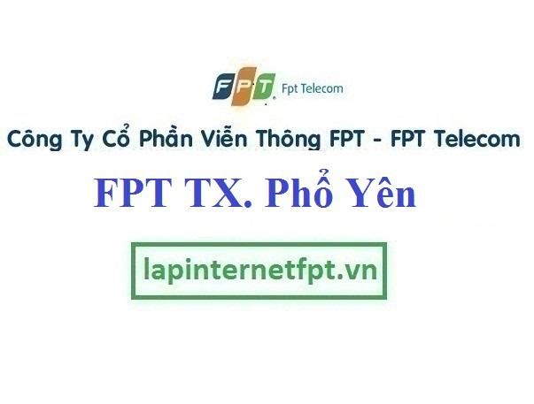 Lắp Đặt Mạng FPT Thị Xã Phổ Yên Tỉnh Thái Nguyên