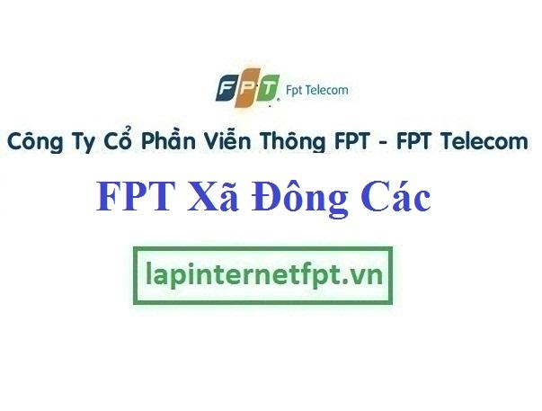 Lắp Đặt Mạng FPT Xã Đông Các Tại Đông Hưng Thái Bình