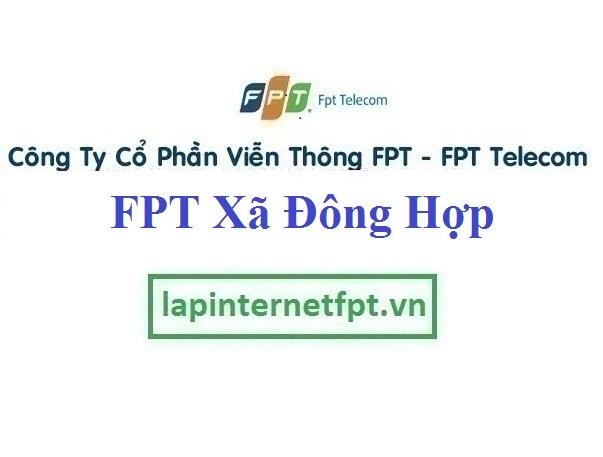 Đăng ký cáp quang FPT Xã Đông Hợp