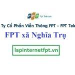Lắp Đặt Mạng FPT xã Nghĩa Trụ tại Văn Giang Hưng Yên