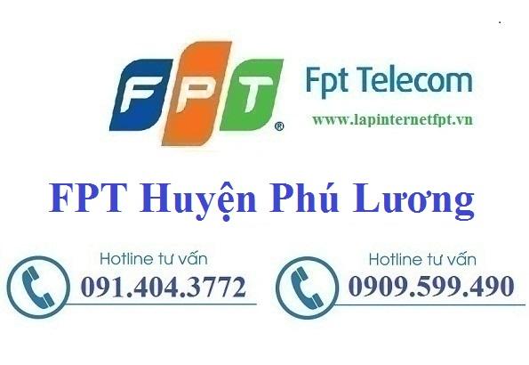 Đăng ký cáp quang FPT Huyện Phú Lương