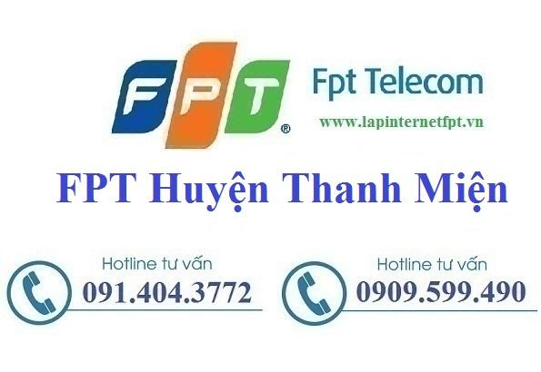 Đăng ký cáp quang FPT Huyện Thanh Miện