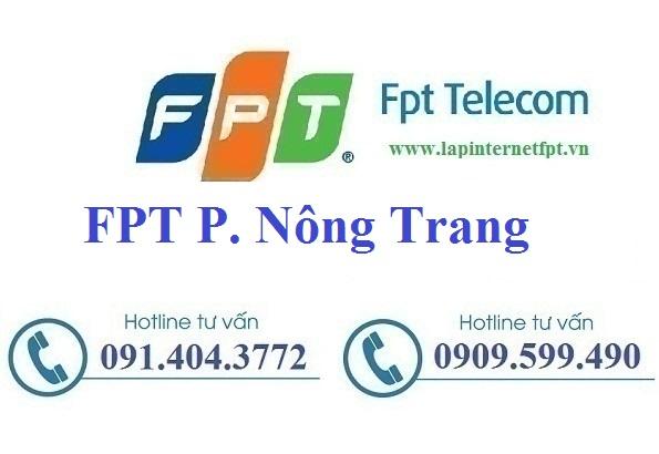 Đăng ký cáp quang FPT Phường Nông Trang