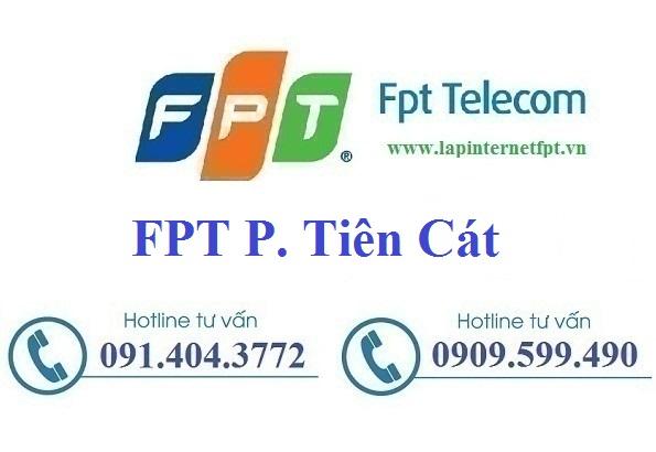 Đăng ký cáp quang FPT Phường Tiên Cát