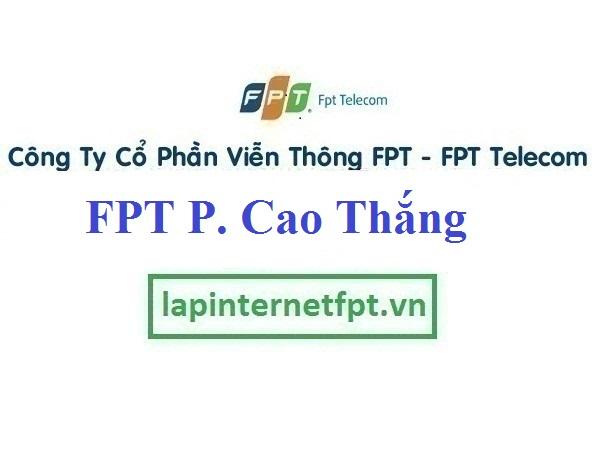 Lắp Đặt Mạng FPT Phường Cao Thắng Thành Phố Hạ Long