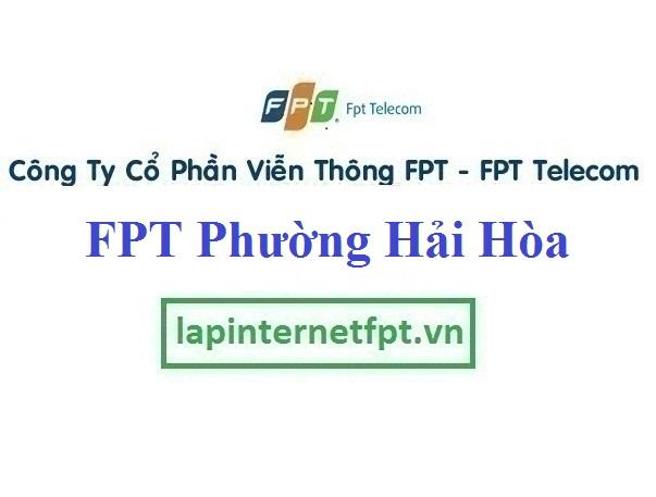 Đăng ký cáp quang FPT Phường Hải Hòa