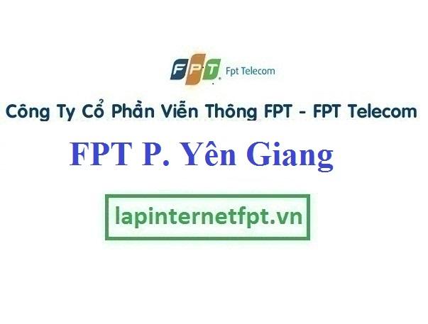 Đăng ký cáp quang FPT Phường Yên Giang