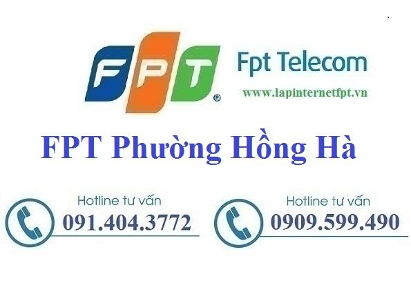 Đăng ký cáp quang FPT Phường Hồng Hà