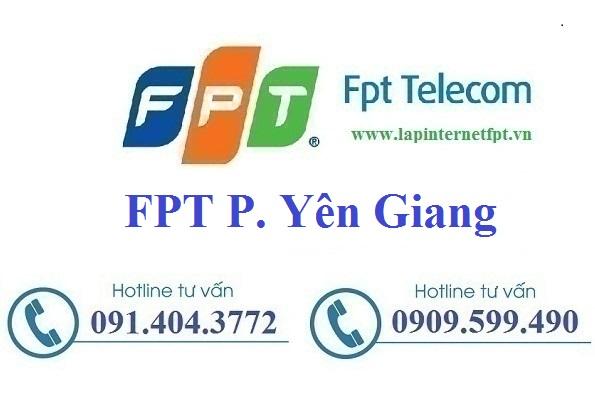 Lắp Đặt Mạng FPT Phường Yên Giang Thị Xã Quảng Yên