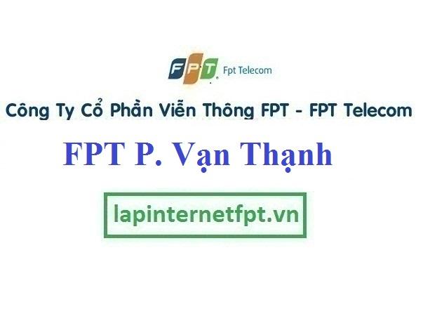 Lắp Đặt Mạng FPT Phường Vạn Thạnh Thành Phố Nha Trang