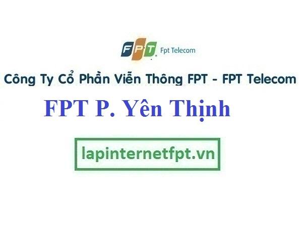 Lắp Đặt Mạng FPT ở Phường Yên Thịnh