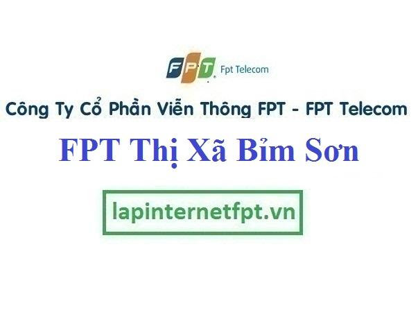 Lắp Đặt Mạng FPT Thị Xã Bỉm Sơn Tỉnh Thanh Hóa