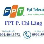 Lắp Đặt Internet FPT Phường Chi Lăng Thành Phố Lạng Sơn