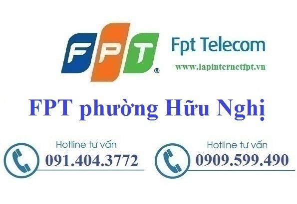 Lắp Đặt Mạng FPT phường Hữu Nghị thành phố Hòa Bình
