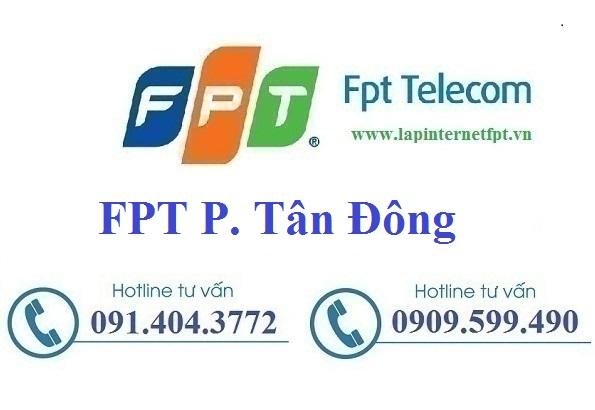 Đăng ký cáp quang FPT Phường Tân Đông