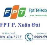 Lắp Đặt Mạng FPT Phường Xuân Đài Thị Xã Sông Cầu Phú Yên