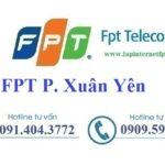 Lắp Đặt Internet FPT Phường Xuân Yên Thị Xã Sông Cầu Phú Yên