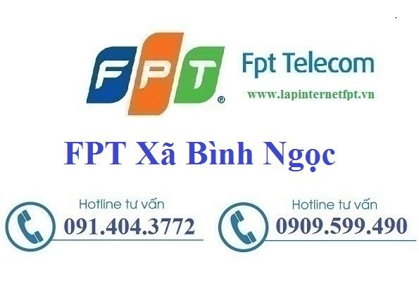 Đăng ký cáp quang FPT xã Bình Ngọc