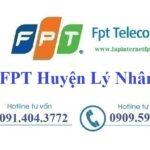 Lắp Đặt Mạng FPT Huyện Lý Nhân Tỉnh Hà Nam