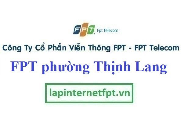 Lắp Đặt Mạng FPT Phường Thịnh Lang thành phố Hòa Bình