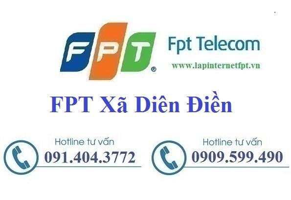 Đăng ký cáp quang FPT Xã Diên Điền