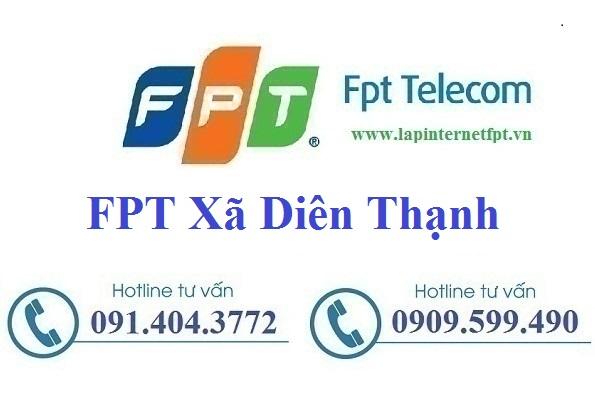 Đăng ký cáp quang FPT Xã Diên Thạnh