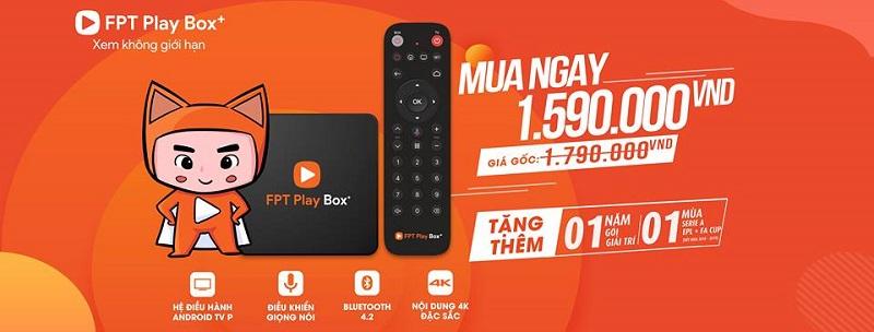 Giá bán fpt play box Hà Nội