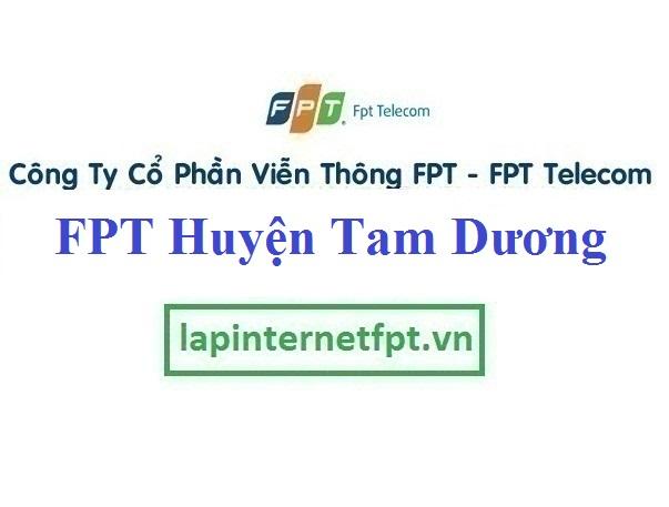Lắp Đặt Mạng FPT Huyện Tam Dương tỉnh Vĩnh Phúc