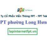Lắp đặt mạng FPT phường Long Hưng quận Ô Môn Cần Thơ