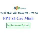 Lắp Đặt Mạng FPT xã Cao Minh Tại Phúc Yên