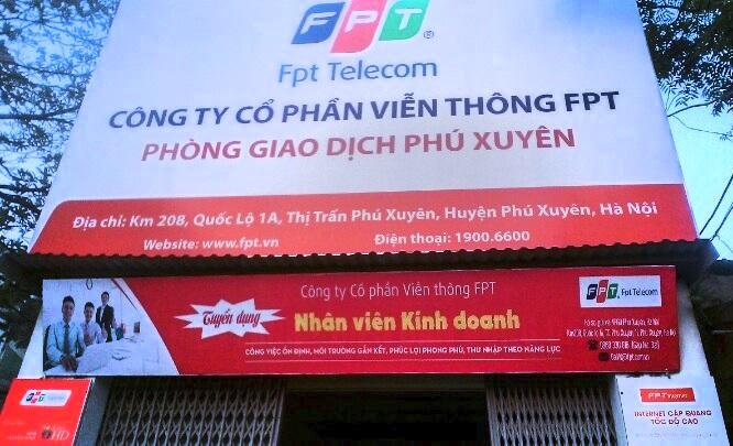 Văn Phòng Giao Dịch FPT Huyện Phú Xuyên