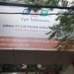 Văn Phòng Giao Dịch FPT Thái Bình Tại 168 Nguyễn Thị Minh Khai