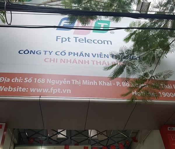 Địa điểm chi nhánh phòng giao dịch FPT Thái Bình cho khách hàng